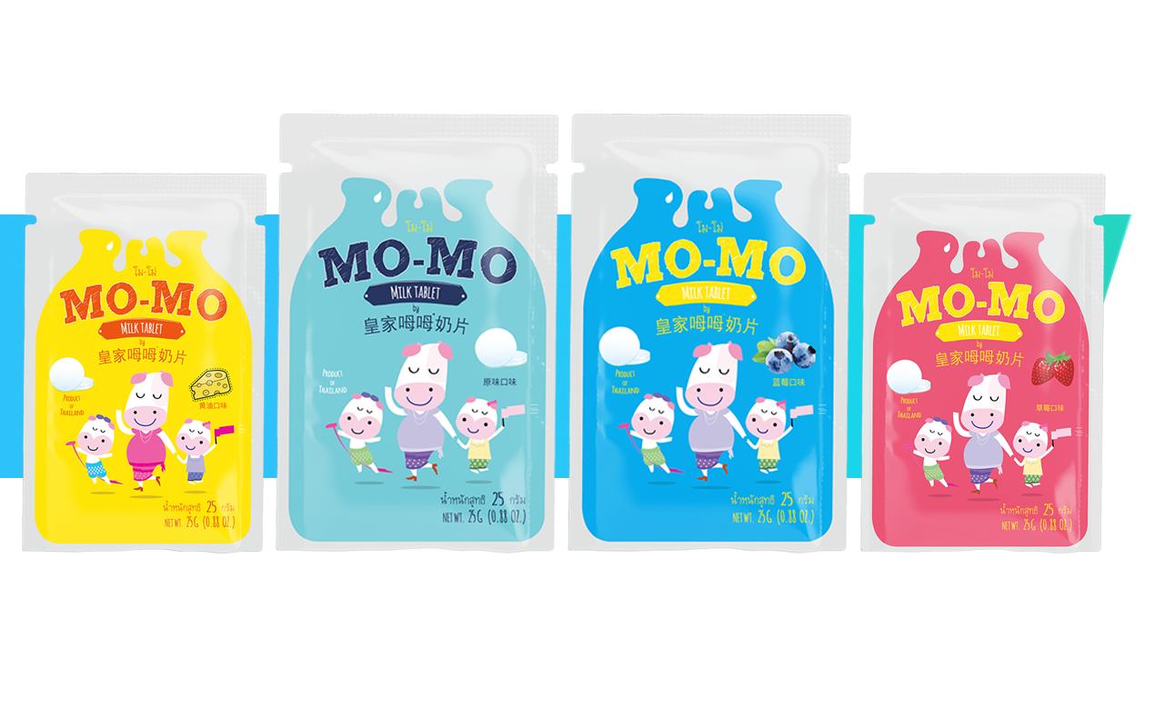 皇家姆姆奶片-0添加泰国进口奶片